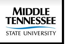 MTSU Logo