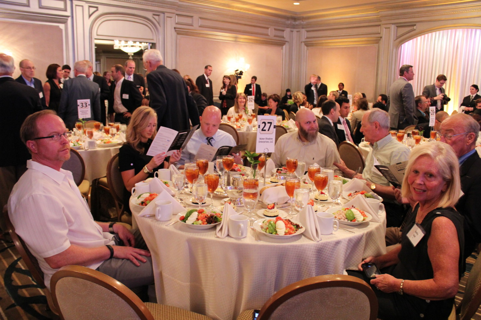 Triatek Table at Awards Ceremony