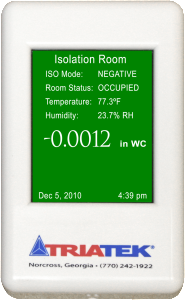 FMS-1650 Room Pressure Controller