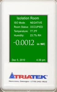 FMS-1650 Room Pressure Controller