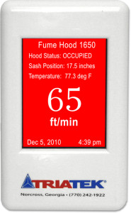 HMS-1650 Fume Hood Controller