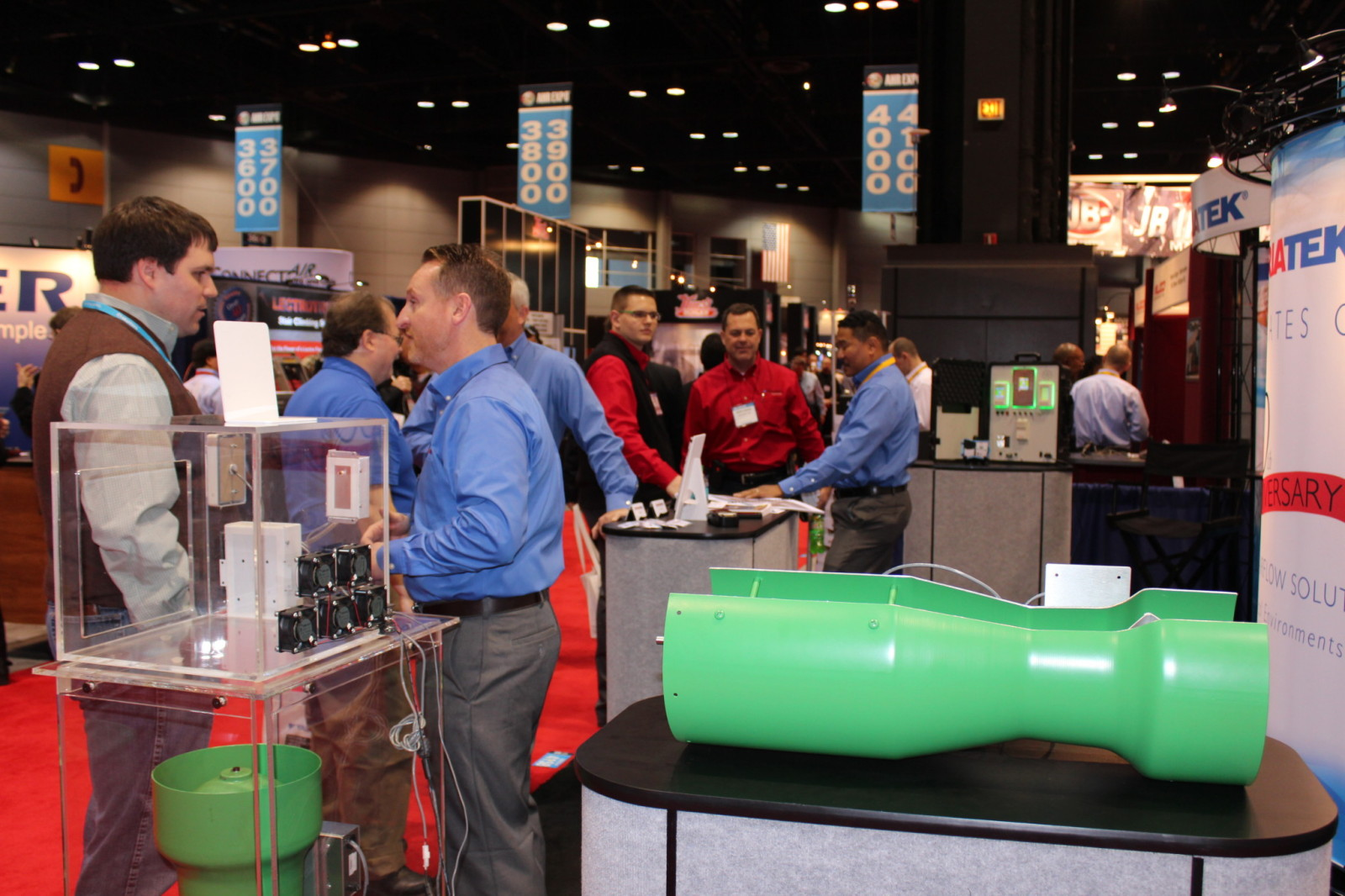 Busy Triatek Booth