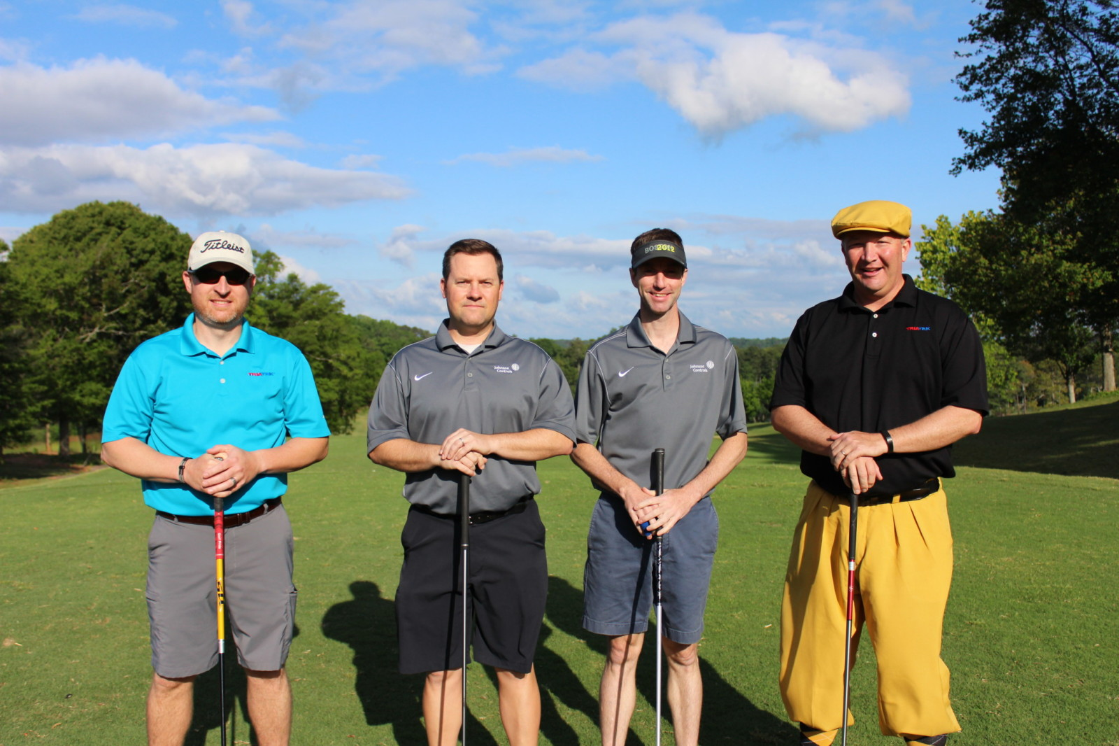 Triatek's golf foursome