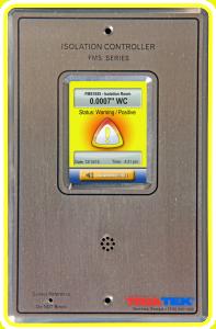 FMS-1655 LITE Room Pressure Monitor