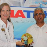 Triatek's Director of Production and Procurement Receives Faces of Manufacturing Award