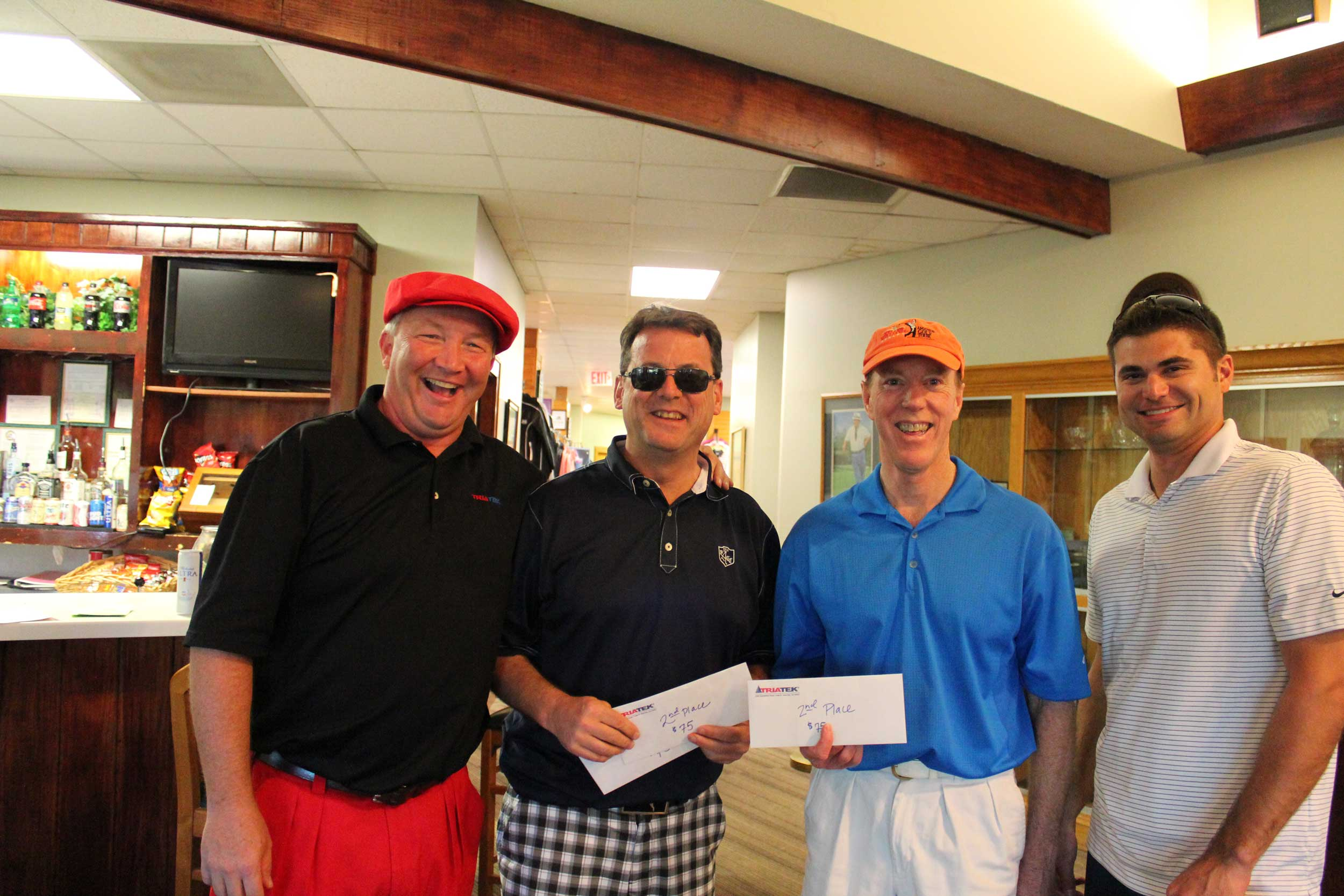 Golf Tournament Second Place Winners
