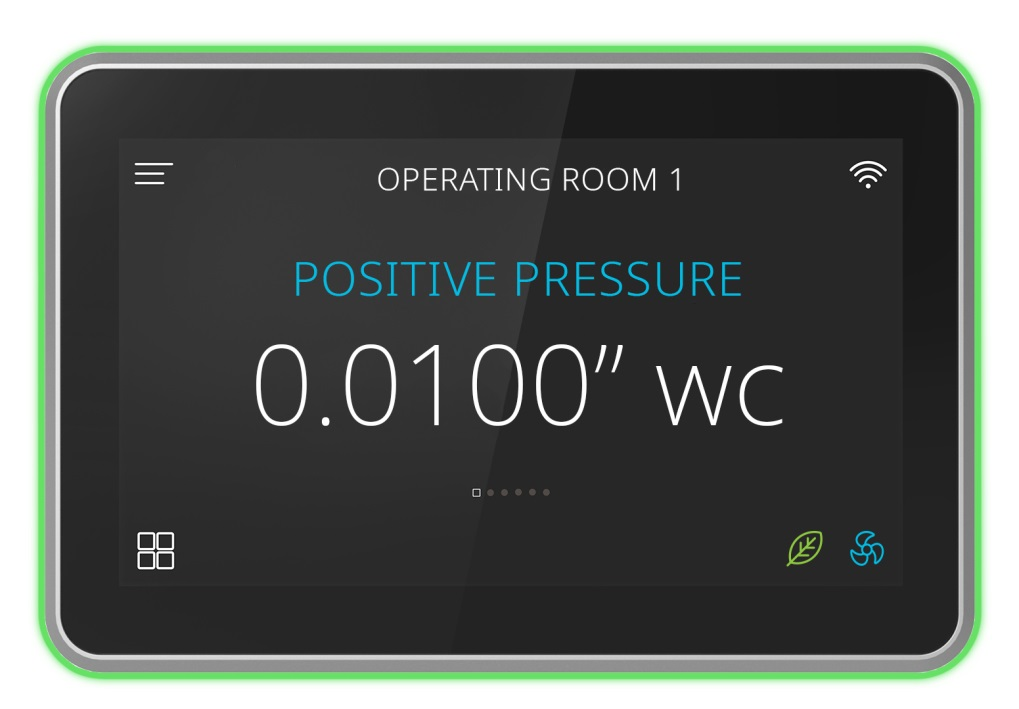 FMS Series Room Pressure Controller